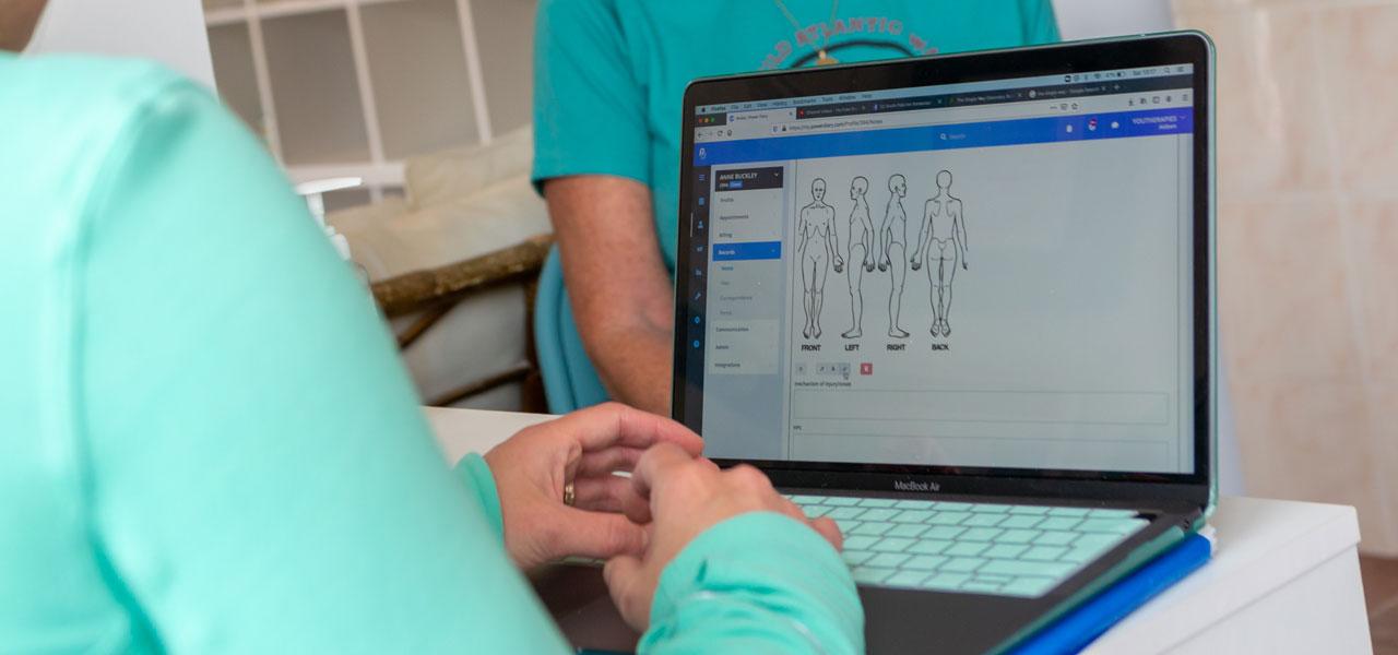 artvaark design work website physio therapy