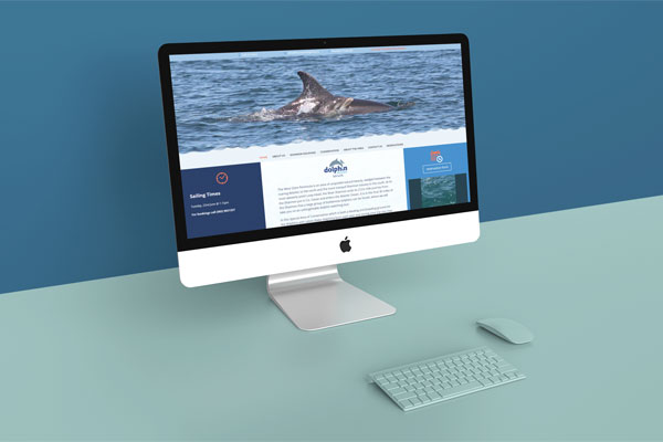 artvaark design work website dolphin discovery kilrush